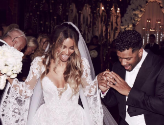 Russell Wilson And Ciara Are Officially Married, Check Out The Beautiful Photos From Their Ceremony In England!