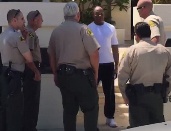 Wow…Dr. Dre Was Handcuffed And Frisked At His Home In California After Some Racist Bro Claimed He Pulled A Gun On Him