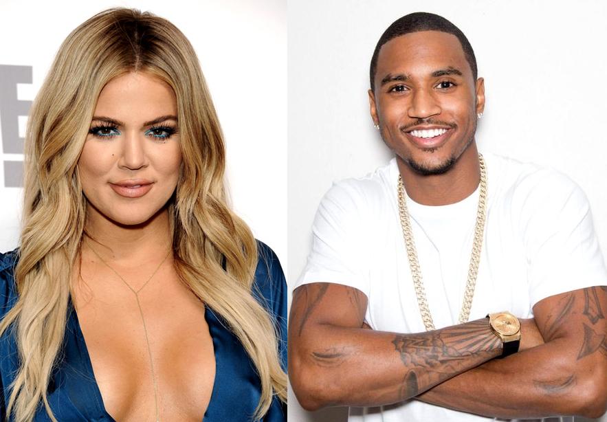 Khloe Kardashian and Trey Songz