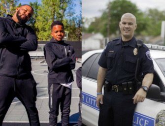 The Game And His Son Have Raised $60k For A Police Officer In Arkansas Who Is Doing Things The Right Way