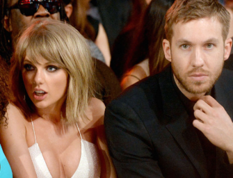 Howie Mandel Makes Taylor Swift Joke While Presenting An Award To Calvin Harris, And It Was All Caught On Camera! (VIDEO)