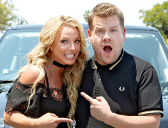 IT'S FINALLY HERE! Britney Spears Does Carpool Karaoke With James Corden…You Need This In Your Life! (VIDEO)