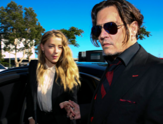 Disturbing Video Shows An Intoxicated Johnny Depp Smashing Wine Glasses And Threatening Amber Heard (VIDEO)