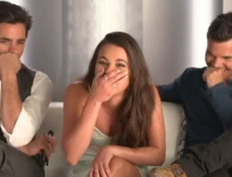 During A Hilarious Interview With John Stamos And Lea Michele, Taylor Lautner Admits Taylor Swift Wrote A Song About Him (VIDEO)