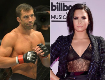 Whaaat? Demi Lovato Is Reportedly Dating The UFC's Former Middleweight Champ Luke Rockhold…Details Inside!