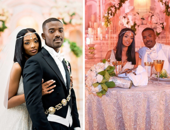 Brandy Has Still Got It! Listen To Her Sing 'At Last' During Ray J And Princess Love's First Dance (VIDEO)