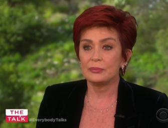 Sharon Osbourne Fights Back The Tears As She Comes Clean About Ozzy Osbourne's Sex Addiction (VIDEO)
