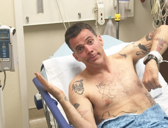 Too Old For This?  WATCH: Steve O's Latest Stunt Filmed By Tony Hawk, Goes All Wrong and Lands Him In the ER.  (Video)
