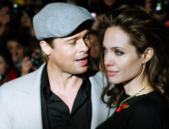 Wow…Brad Pitt Under Investigation For Child Abuse After Getting Wasted On Private Jet With His Family