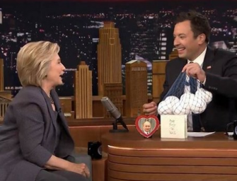 Hillary Clinton Takes Some Hilarious Shots At Donald Trump During Her Special Appearance On The Tonight Show (VIDEO)