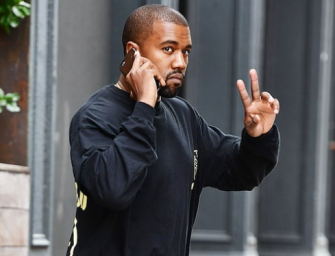 """Kanye West Throws Away His Phone, And Then Tweets About How He'll Have More """"Air To Create"""" Now"""
