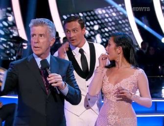 "Ryan Lochte Rushed By Protesters During Debut On Dancing With The Stars: ""It Felt Like Someone Ripped My Heart Out"" (VIDEO)"