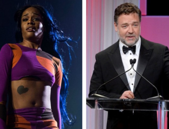 Was Russell Crowe And Azealia Banks Hotel Fight Caught On Camera? Police Are Investigating