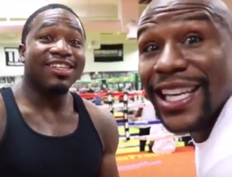 Floyd Mayweather Reaches Out to Adrien Broner After Broner's Suicidal Posts. Why Broner Wanted to Kill Himself and Video of Floyd & Adrien Together again Inside  (Video)