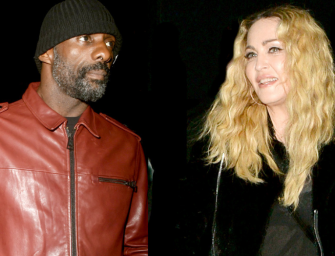 Idris Elba Makes LEGIT Kickboxing Debut, And Madonna Was Right There Watching His Every Move…Are They Dating? (VIDEO)