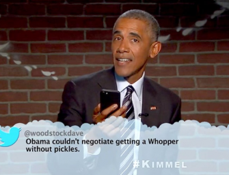 Barack Obama Makes Special Appearance On Jimmy Kimmel For Last Round Of Mean Tweets, Delivers Best Donald Trump Slam Ever (VIDEO)