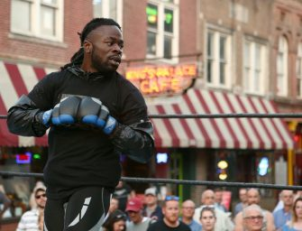 SHOCKING LOSS: Baby Slice (Kimbo Slice Jr.) Dominates In Bellator 165 Debut…. Until Aaron Hamilton Chokes Him Out! (Submission Video and Highlights)