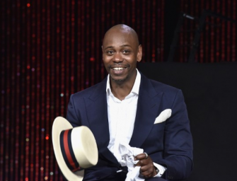 Dave Chappelle Supporting Donald Trump? You Have To See His Reaction When A Photographer Asked Him The Question (VIDEO)