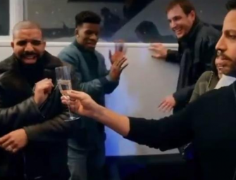 Drake And Dave Chappelle FREAK OUT While Watching David Blaine Spit Out Live Frogs….This Ain't Right! (VIDEO)