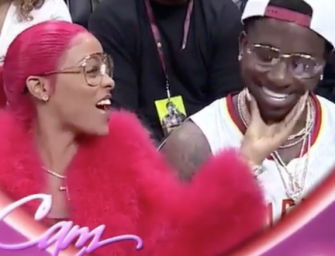 Gucci Mane Is A Romantic Dude: Proposes To Longtime Girlfriend On Kiss Cam During Atlanta Hawks Game (VIDEO + Twitter Reaction)