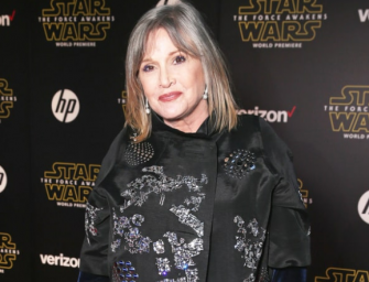 2016 Takes Another One, 'Star Wars' Actress Carrie Fisher Dead At 60