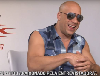 """Vin Diesel Is One Terribly Creepy Dude, Makes YouTuber Extremely Uncomfortable By Ignoring Her Questions And Repeatedly Calling Her """"Sexy"""" (VIDEO)"""