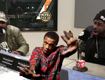 """Flex Bow Wow Beef Boring until…..Oun P's Freestyle Causes Flex to Lose His Mind and Social Media Loves it!  """"2017 MUMBLE RAPPERS ARE FINISHED"""" (Video – Crazy Bars & Growling Flex)"""