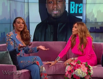 Really Vivica? Watch Wendy Williams Expression As Vivica Fox Holds Back Tears and Admits That 50 Cents is the Love of her Life! (VIDEO)