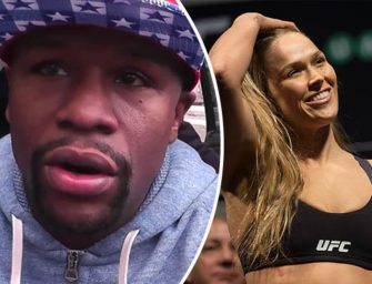 """Floyd Drops Vintage Mayweather Knowledge On the Rousey Loss, """"God Only Made one Thing Perfect; My Boxing Record""""!"""