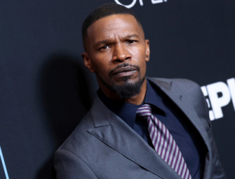 Jamie Foxx Covers His Eye And Speaks Out After Reported Attack At A Restaurant In Los Angeles (Attack Video + Response Video)