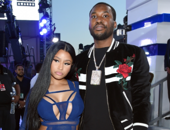 2017 Is Trying To End Meek Mill: Hilarious Video Shows Him Slipping Down Some Icy Stairs At His Mom's Crib
