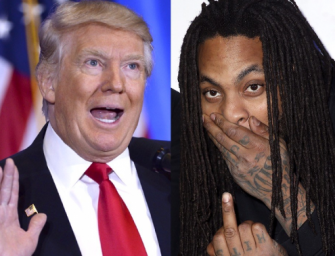 SHARTS FIRED! Waka Flocka Flame Wipes His Butt Crack With Donald Trump Jersey During Concert (VIDEO)