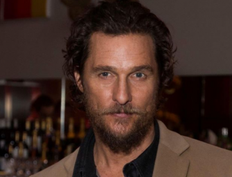 "Matthew McConaughey Tells America That It's Time We ""Embrace"" Trump And Work With Him Instead Of Against Him"