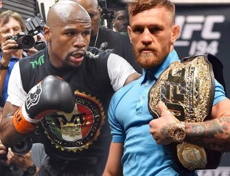 UFC Star Chris Weidman Says The Conor McGregor/Floyd Mayweather Fight Is 100% Going To Happen! (VIDEO)