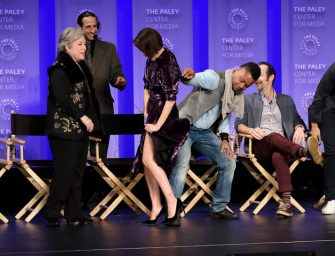 Did Cuba Gooding Jr. Cross The Line By Lifting Up Sarah Paulson's Dress During Panel Discussion For AHS? WE GOT THE VIDEO!