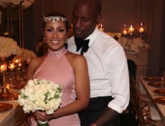OFF THE MARKET! Tyrese Ties the knot in a Secret Wedding & Upsets Some Females with a Hashtag! (VIDEO AND WEDDING PHOTOS)