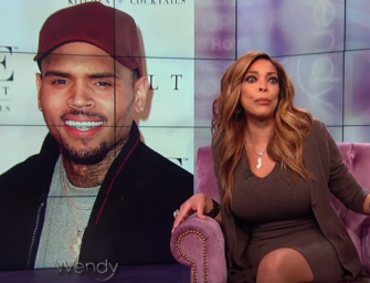 Awww Wendy!  Wendy Williams has a Teary Eyed Breakdown when Discussing Recent Issues with Chris Brown and Chris Brown Responds! (VIDEO)