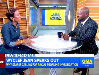 """Wyclef Jean Talks About Terrifying Incident With Police, Claims He Was """"Scared For His Life"""" After Being Mistaken For Robbery Suspect (VIDEO)"""