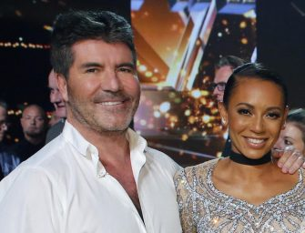 Chest Hair Of Wisdom: Sources Say Simon Cowell Was The One Who Convinced Mel B To Leave Her Abusive Husband