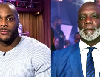 The Old Man Got Hands!  56 Year Old Peter Thomas Holds His Own Against Kenya Moore's 6 Ft 7 Inch Muscle Bound Ex!  Matt is Embarrassed and Wants the Video REMOVED!  (MUST WATCH VIDEO)