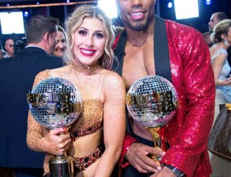 Another Athlete Wins Dancing With The Stars! NFL Player Rashad Jennings Takes Home The Mirrorball Trophy