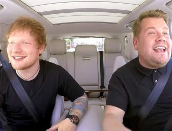 Ed Sheeran Puts Some Life Back In Carpool Karaoke With James Corden, Talks About A Wild Night He Had With Justin Bieber On A Golf Course