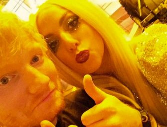 Lady Gaga Fans Run Ed Sheeran Off Twitter, But Lady Gaga Comes To His Defense And Tells Her Fans To Spread Love…NOT HATE!