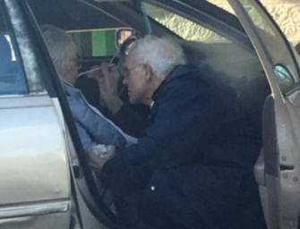 True Love Never Dies: Photo Of Elderly Man Feeding His Wife Ice Cream Has Gone Viral…ICE CREAM HAS NEVER BEEN SO SWEET (PHOTOS)
