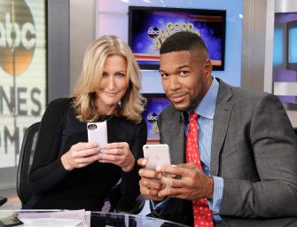 Michael Strahan Returns To Good Morning America After Losing A Little Bit Of His Pinky Finger, BONUS VIDEO OF HIS GNARLY DISLOCATED FINGER TRICK!