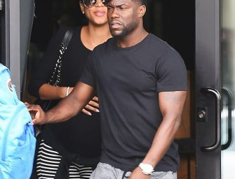 Eniko Parrish Is Standing By Her Cheating Man, Photos Show Her And Kevin Hart Going Out For A Lunch Date (PHOTOS)