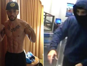 MMA Fighter Sergio Dasilva Robs A Citibank, Located on the Same Block He Lives On!  We Got the Details.