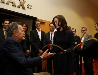 George H.W. Bush Attempts To Apologize For Allegedly Groping Actress Heather Lind In 2014
