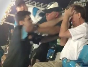 They Are Brawling In The Stands! NFL Is Investigating Brutal Assault Caught On Tape During Panthers Game (DISTURBING VIDEO)