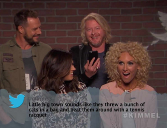 Mean Tweets Country Music Edition #3: This Time Featuring Blake Shelton, Florida Georgia Line, Chris Stapleton And Many More (VIDEO)